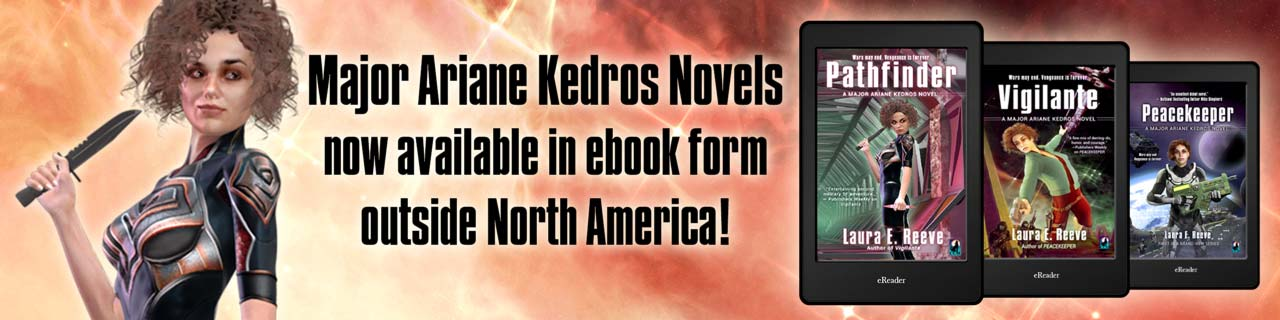 Major Ariane Kedros Novels now available in ebook form outside North America