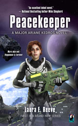 Peacekeeper eBook offered outside North American & Canadian territories